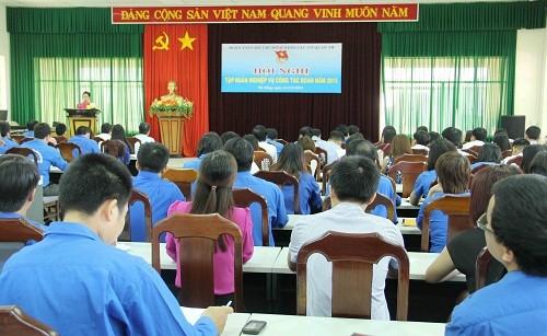 Tập huấn nghiệp vụ công tác đoàn