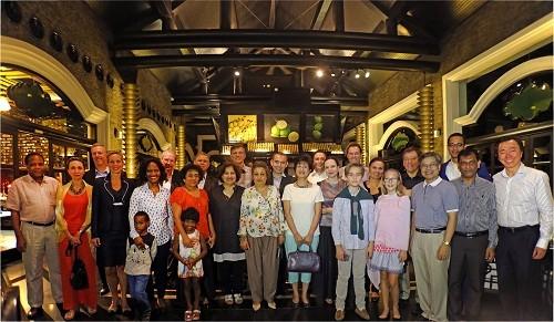 Chào đón các Đại sứ trong CLB Đại sứ ẩm thực tại Việt Nam