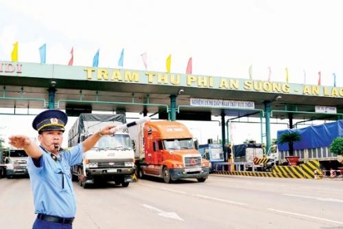 Giảm phí BOT: Doanh nghiệp vận tải bớt lo