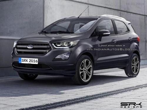 Ford EcoSport 2017 sắp ra mắt có gì?
