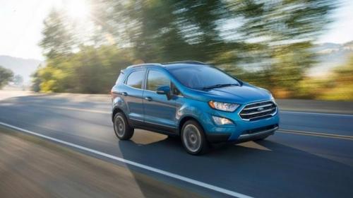Ford trình làng EcoSport 2018 với 2 phiên bản động cơ 1.0L và 2.0L