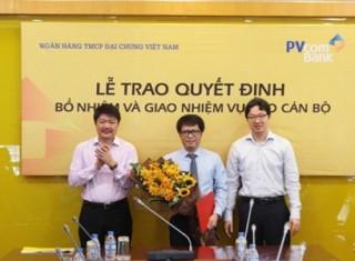 PVcomBank có Tổng giám đốc mới