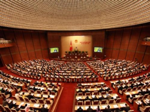 Quốc hội thảo luận dự án Luật Hỗ trợ DNNVV