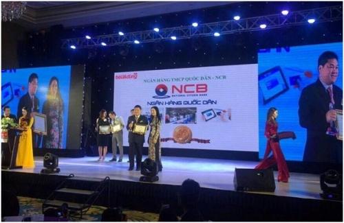 NCB Smart nhận giải thưởng Tin và Dùng Việt Nam 2016