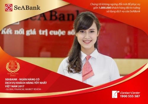 SeABank giành giải thưởng Dịch vụ khách hàng tốt nhất Việt Nam