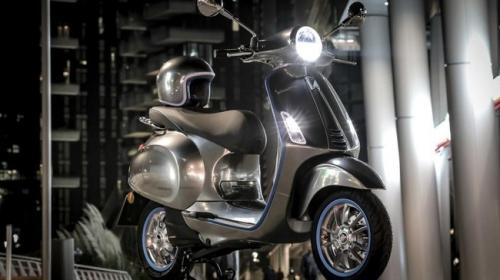 Xe tay ga Vespa chạy điện sẽ được bán ra vào năm sau