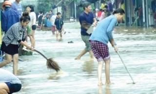 Đảm bảo vệ sinh môi trường sau lũ