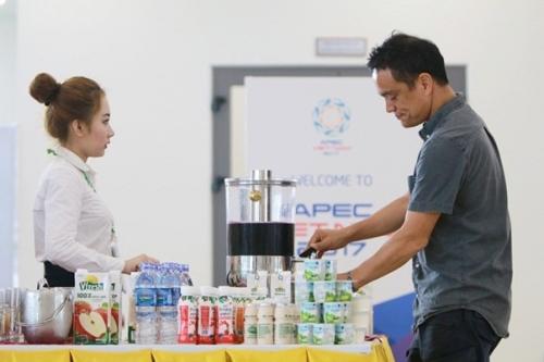 Vinamilk cung cấp hơn nửa triệu sản phẩm phục vụ cho APEC 2017