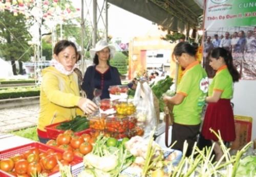 Giới thiệu nông sản sạch đến người dân thành ph