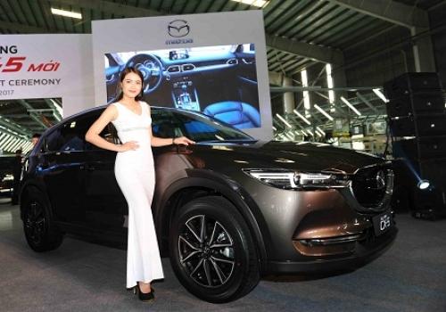 Thaco ra mắt dòng xe Mazda CX-5 mới