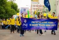 """PNJ hưởng ứng chương trình """"Đồng hành vì người nghèo"""""""