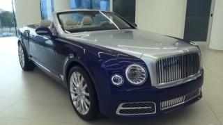 Bentley Mulsanne Grand Convertible thế hệ mới giá 3,5 triệu USD