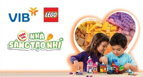 """VIB phối hợp với LEGO tổ chức cuộc thi """"Nhà sáng tạo nhí"""""""