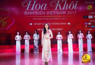 Vòng bán kết Hoa khôi Sinh viên: Thí sinh khoe vẻ đẹp tươi tắn trong tà áo dài