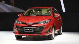 Toyota Vios khuyến mãi trong tháng 11 và 12/2018