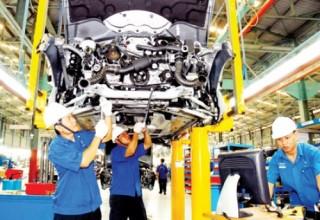 Áp lực của ngành công nghiệp chế biến chế tạo châu Á