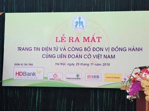 Ra mắt trang tin điện tử chính thức của Liên đoàn Cờ Việt Nam