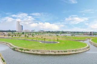Khánh thành khu tiện ích và hạ tầng dự án Đất Quảng Riverside