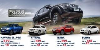 Nhận ngay ưu đãi hơn 100 triệu đồng khi mua xe Nissan trong tháng 11