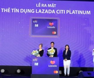 Ra mắt thẻ tín dụng Citi Lazada Platinum tại Việt Nam
