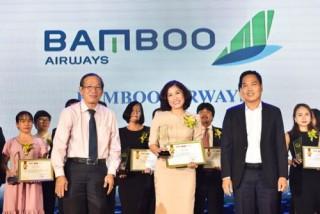 Bamboo Airways được bình chọn là Hãng hàng không có dịch vụ tốt nhất