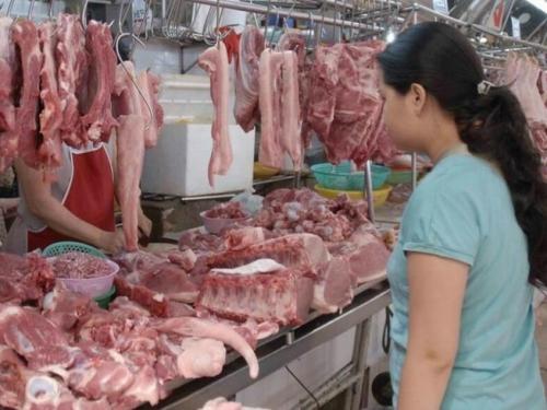 Giải pháp tiền tệ chặn đà tăng giá thịt lợn