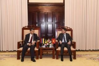 Tạo điều kiện thuận lợi nhất để gắn kết hệ thống ngân hàng Việt Nam và Armenia