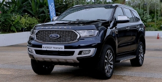 Ford Everest 2021 phiên bản Thái có giá từ 41.730 USD