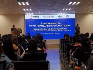 NEU, CED và PepsiCo sẽ đào tạo 60 lãnh đạo môi trường trẻ