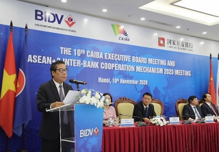 Hội nghị thường niên CAIBA lần thứ 10 và Cuộc họp Cơ chế Hợp tác liên ngân hàng ASEAN+3 năm 2020