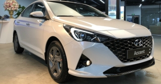 Hyundai Accent 2021 lộ diện hoàn toàn