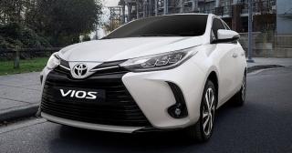 Toyota Vios 2021 sắp về Việt Nam