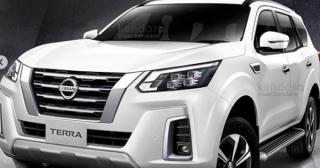 Nissan Terra 2021 lộ diện
