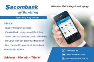 Dịch vụ Mobile Banking – Ngân hàng di động dành cho doanh nghiệp