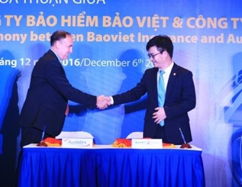 Bảo hiểm Bảo Việt hợp tác với Audatex nâng cao chất lượng dịch vụ