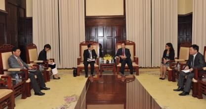Tăng cường hợp tác, trao đổi giữa NHNN Việt Nam và JICA