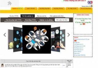 Website nội bộ: Bước đột phá trong phát triển của Công đoàn CIC