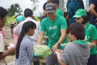 Grab Việt Nam hỗ trợ đồng bào bị thiên tai