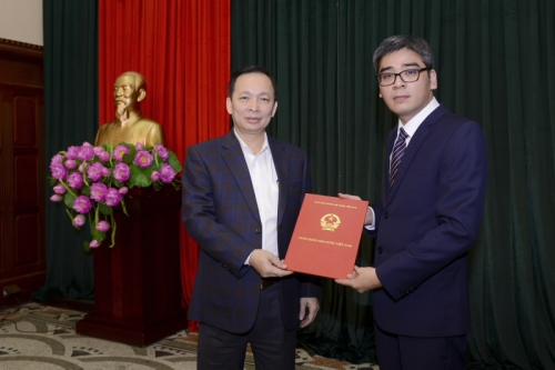 NHNN bổ nhiệm Phó Cục trưởng Cục Phát hành và Kho quỹ