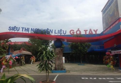Chợ đầu mối gỗ đầu tiên xuất hiện tại Việt Nam