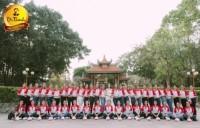 Các thí sinh Hoa khôi sinh viên chuẩn bị cho đêm chung kết
