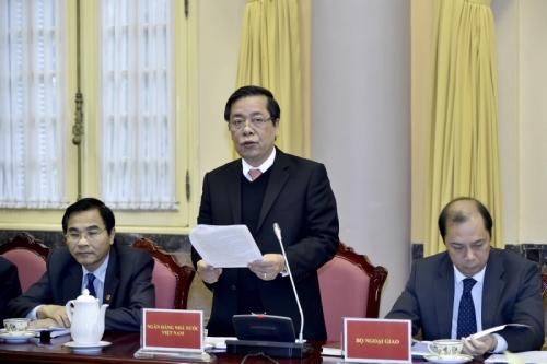 Công bố Luật sửa đổi, bổ sung một số điều của Luật các TCTD