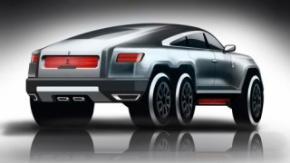 Rolls-Royce 6 bánh - SUV siêu sang địa hình trong mơ