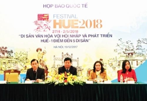 festival hue 2018 mot diem den nam di san