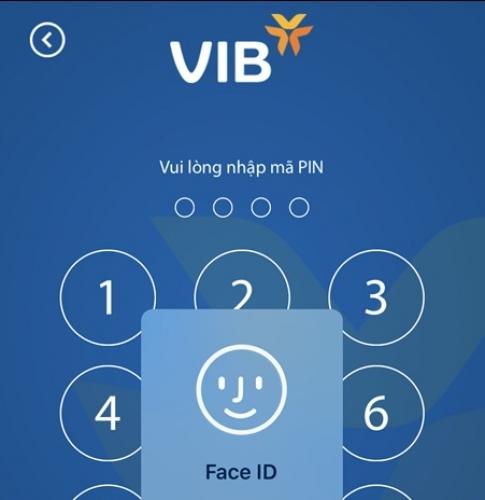 VIB triển khai FaceID trên ứng dụng ngân hàng di động