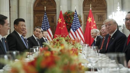 Mỹ - Trung tạm dừng chiến tranh thương mại