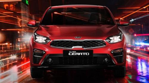 Kia Cerato 2019 có giá từ 559 triệu đồng
