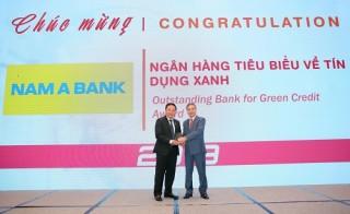 Nam A Bank nhận giải thưởng tiêu biểu về tín dụng xanh