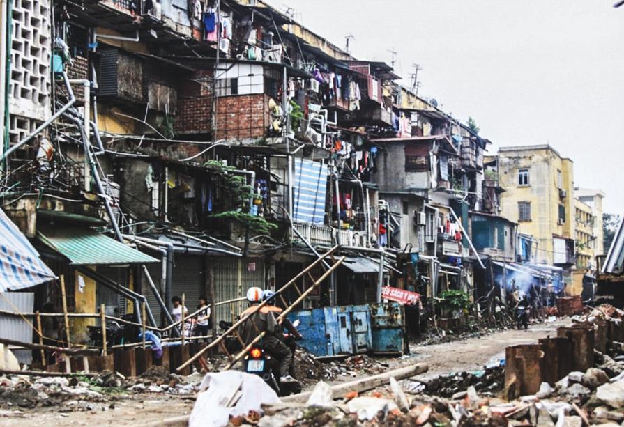 """Cải tạo chung cư cũ tại Hà Nội: Sự vào cuộc của các """"ông lớn"""""""