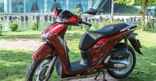 Honda SH có xu hướng tăng giá trong tháng cuối năm
